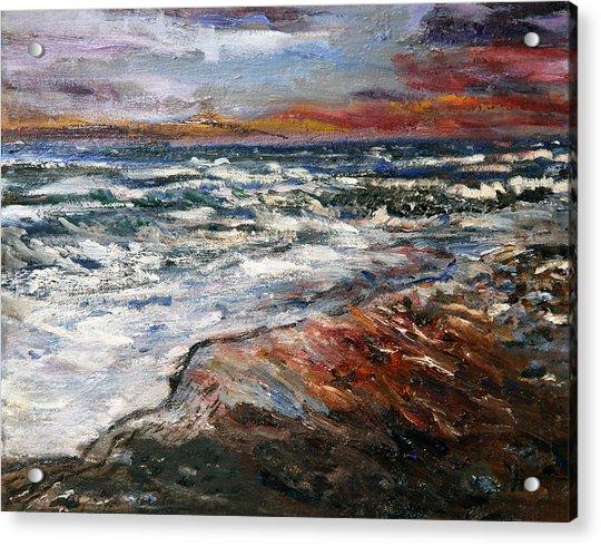 Cape Cod Sunset 1 Acrylic Print