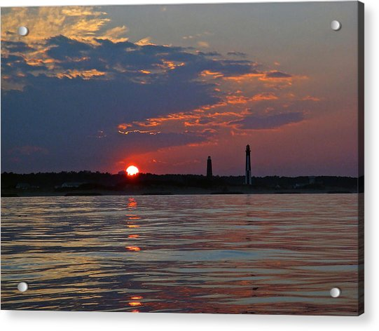 Cape Henry Sunset Acrylic Print