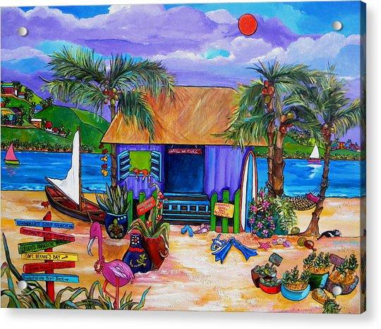 Cara's Island Time Acrylic Print