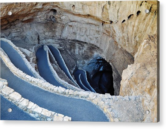 Carlsbad Caverns Natural Entrance Acrylic Print