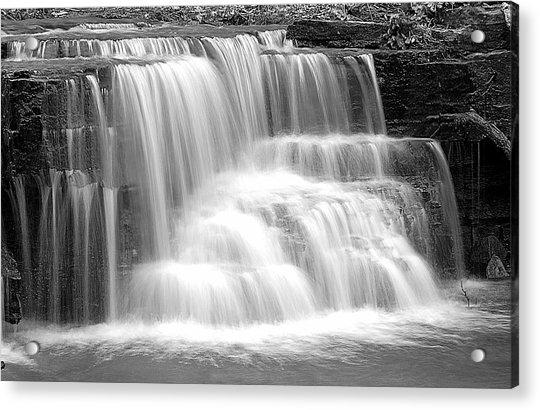 Caron Falls Acrylic Print