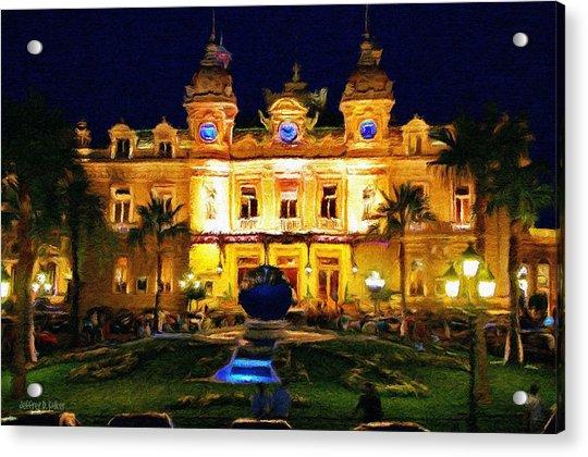 Casino Monte Carlo Acrylic Print