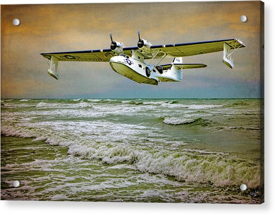 Acrylic Print featuring the photograph Catalina Flying Boat by Chris Lord