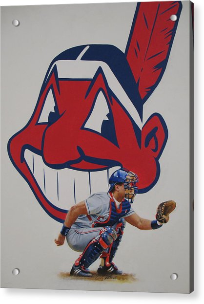 Acrylic Print featuring the painting  Alomar by Cliff Spohn