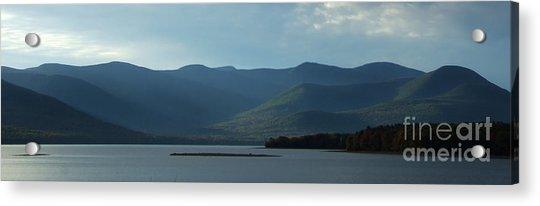 Catskill Mountains Panorama Photograph Acrylic Print