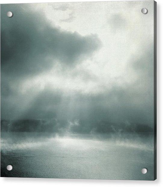 Acrylic Print featuring the photograph Cauldron by Sally Banfill