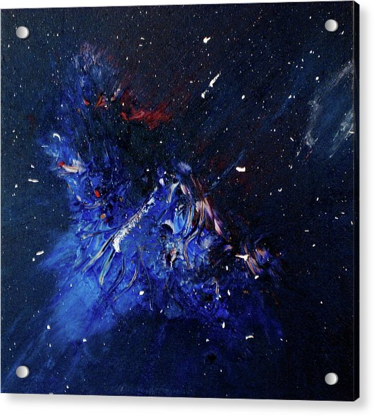 Acrylic Print featuring the painting Celestial Harmony by Michael Lucarelli