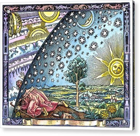 Celestial Mechanics, Medieval Artwork Acrylic Print