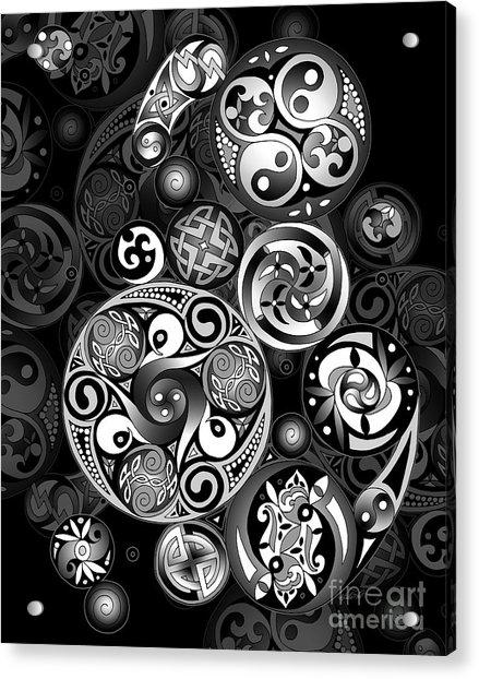 Celtic Clockwork Acrylic Print