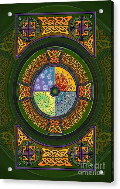 Celtic Elements Acrylic Print