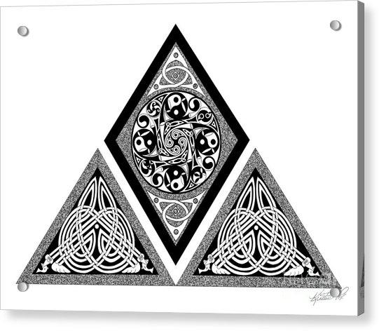 Celtic Pyramid Acrylic Print