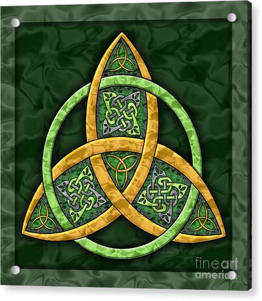 Celtic Trinity Knot Acrylic Print