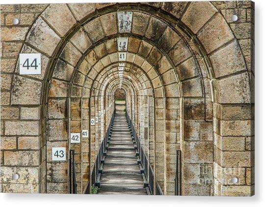 Chaumont Viaduct France Acrylic Print