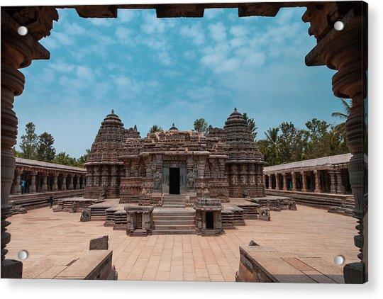 Chennakesava Temple, Somnathpura Acrylic Print
