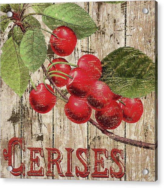 Cherries-cerises Acrylic Print