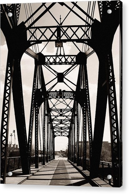 Cherry Avenue Bridge Acrylic Print