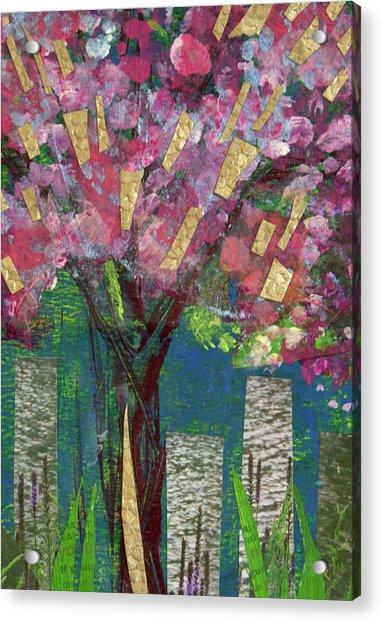 Cherry Blossom Too Acrylic Print