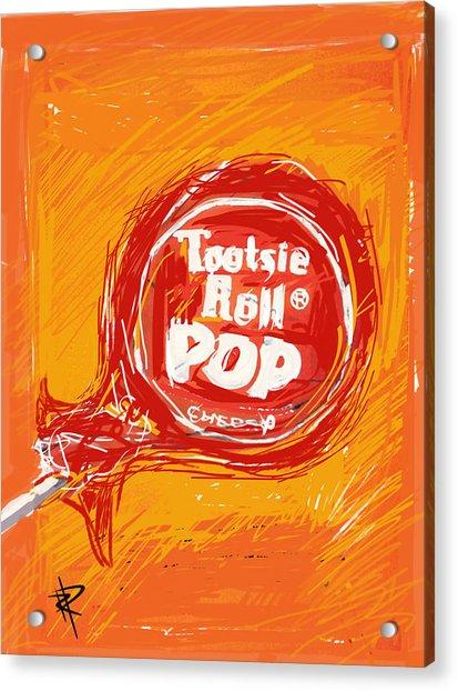 Cherry Pop Acrylic Print