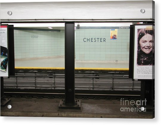 Chester Station Toronto Acrylic Print