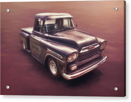 Chevrolet Apache Pickup Acrylic Print