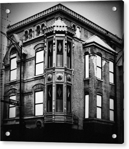 Chicago Historic Corner Acrylic Print