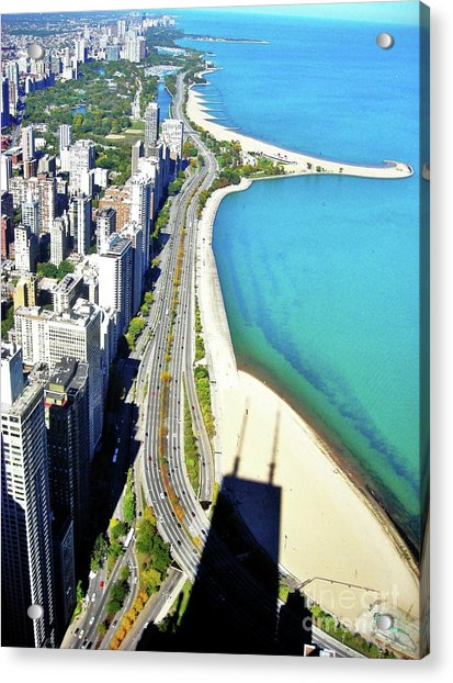 Chicago Shoreline Acrylic Print by Snapshot Studio