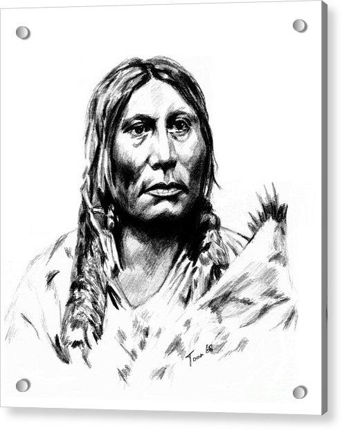 Chief Gall Acrylic Print