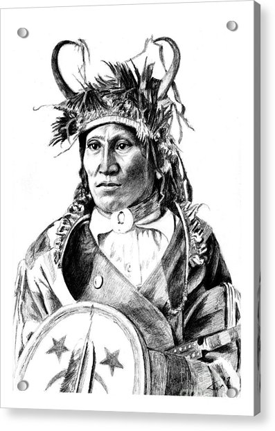 Chief Wets It Acrylic Print