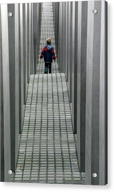 Child In Berlin Acrylic Print