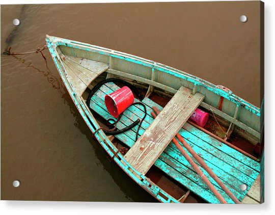 China Camp Boat Acrylic Print