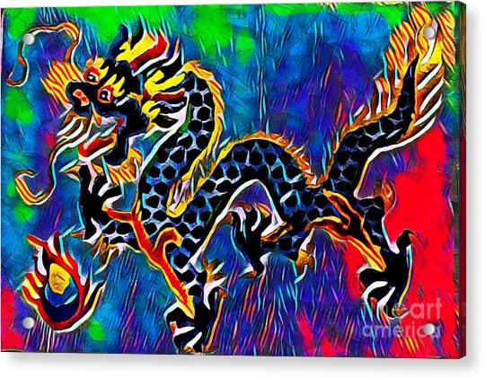 Chinese Dragon Acrylic Print