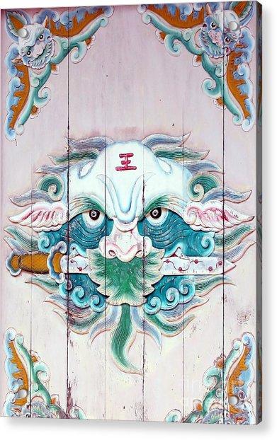 Chinese House God Acrylic Print