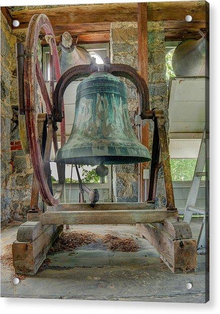 Church Bell 1783 Acrylic Print