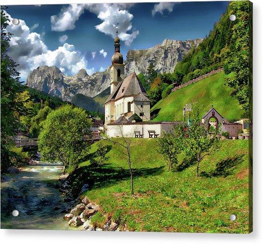 Church Of St. Sebastian Acrylic Print