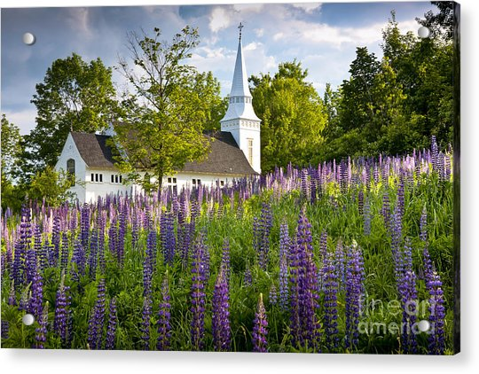 Church On Sugar Hill Acrylic Print