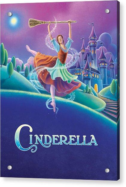 Cinderella Poster Acrylic Print