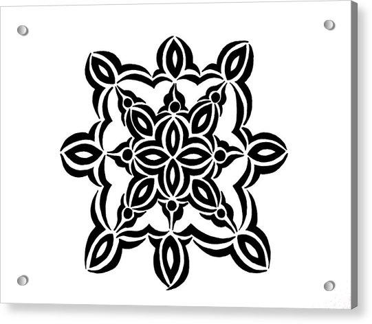 Circular Design 2 Acrylic Print