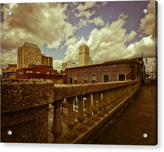 City Federal From The Viaduct Acrylic Print
