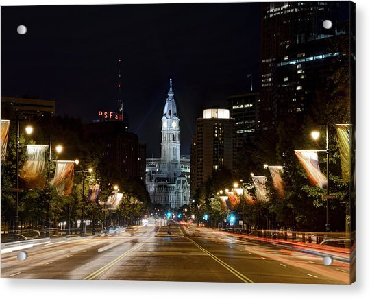 City Hall From The Parkway Acrylic Print