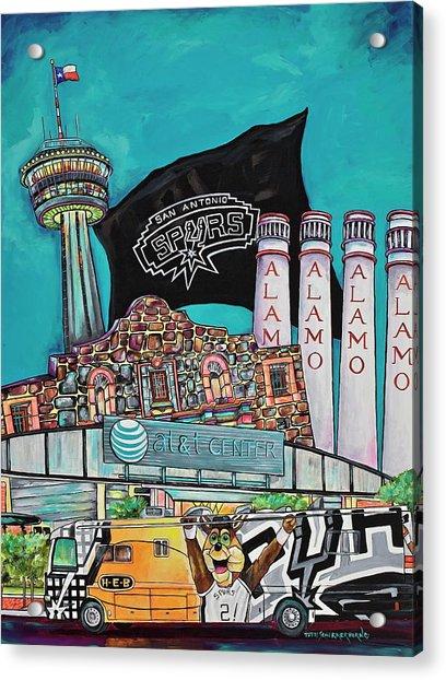 City Spirit Acrylic Print