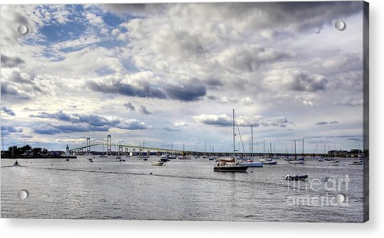 Claiborne Pell Newport Bridge Acrylic Print
