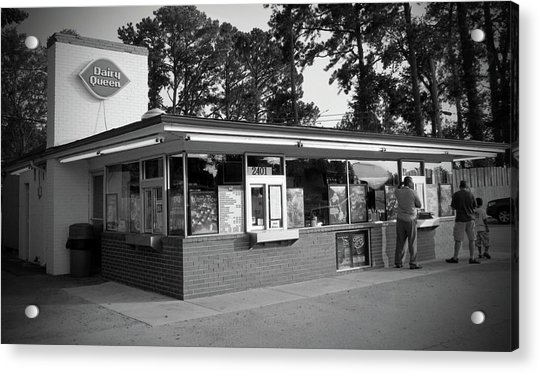 Acrylic Print featuring the photograph Classic Dairy Queen by Cynthia Guinn