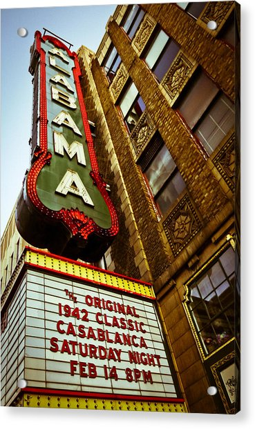 Classic Showing At A Classic Acrylic Print