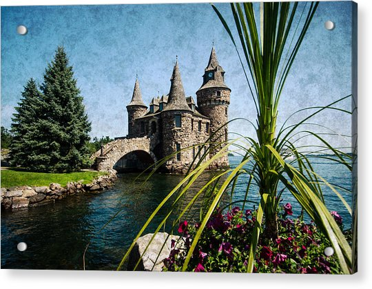 Boldt Castle Power House And Clock Tower Acrylic Print