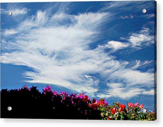 Cloud Patterns Acrylic Print