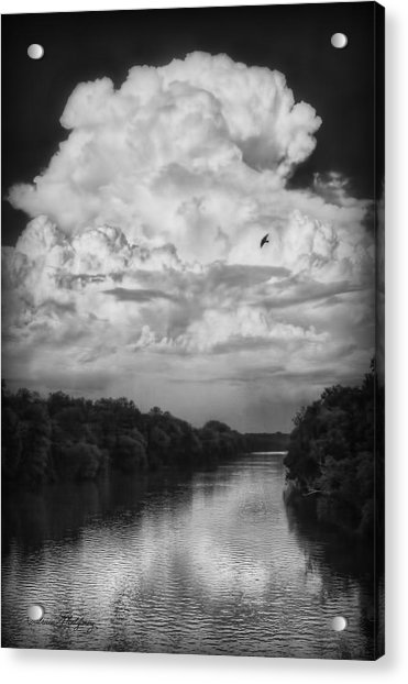 Clouds Over The Coosa River Acrylic Print