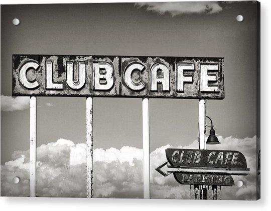 Club Cafe Acrylic Print
