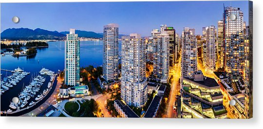 Coal Harbour In Vancouver Acrylic Print