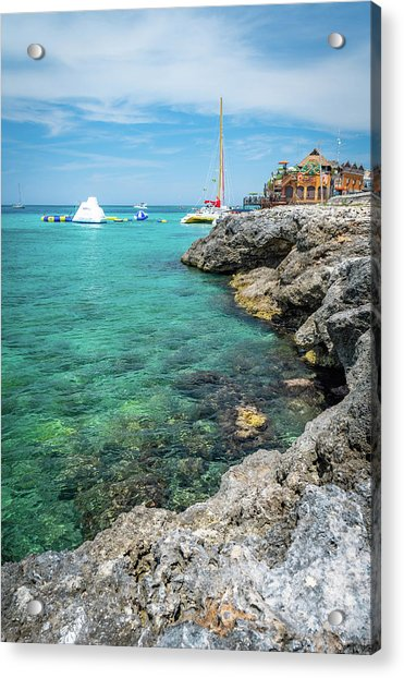 Coastline In Montego Bay Acrylic Print
