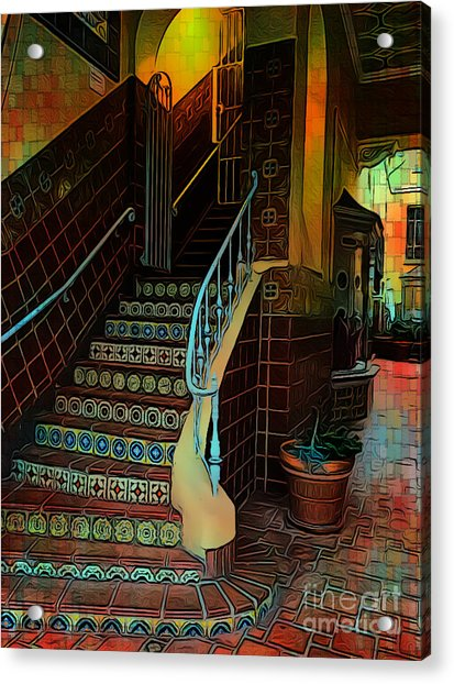 Cobblestone And Tile Acrylic Print